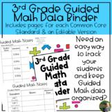 3rd Grade Guided Math Data Binder