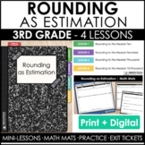 3rd Grade Rounding as Estimation Guided Math Curriculum Le