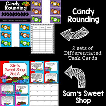 3rd Grade Guided Math Task Cards Bundle