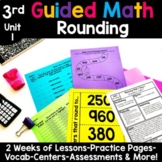 3rd Grade Guided Math -Unit 1 Rounding