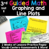 3rd Grade Guided Math -Unit 11 Graphing and Line Plots