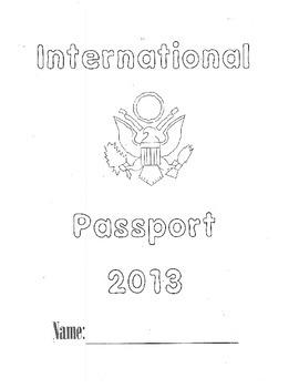 3rd Grade HM Theme 5 Passport Project