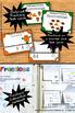 3rd Grade Halloween Math Activities BUNDLE, Halloween Fractions Task Cards