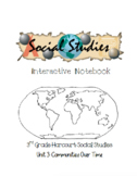 3rd Grade Harcourt Social Studies Interactive Notebook Unit 3