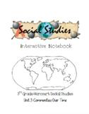 3rd Grade Harcourt Social Studies Interactive Notebook Unit 5