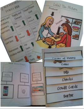 3rd Grade Harcourt Social Studies Interactive Notebook Unit 6