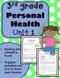 3rd Grade Health - Unit 1: Personal Health