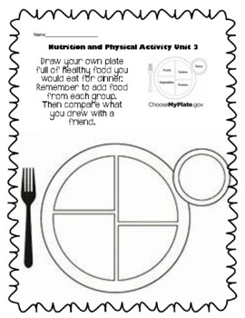 3rd Grade Health - Unit 3: Nutrition and Physical Activity
