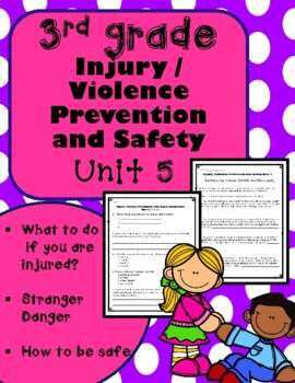 3rd Grade Health - Unit 5 Injury / Violence Prevention and Safety