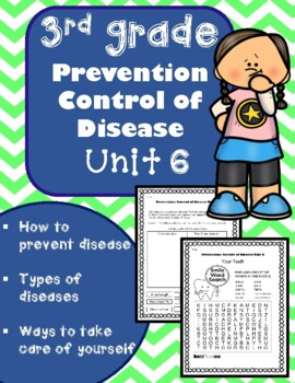 Personal hygiene unit teaching resources teachers pay teachers 3rd grade health unit 6 prevention and control of disease fandeluxe Image collections