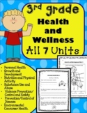 3rd Grade Health Unit for the Entire Year!! (Meets Common Core)