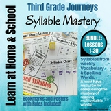 Syllable Mastery for 3rd Grade