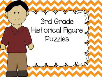 3rd Grade Historical Figure Puzzles