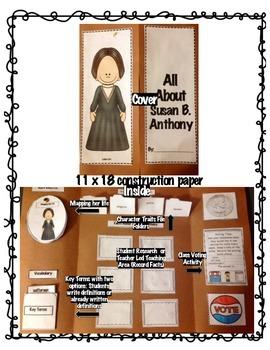 3rd Grade Historical Figures Interactive Lapbooks- MEGA Pack 9 Figures