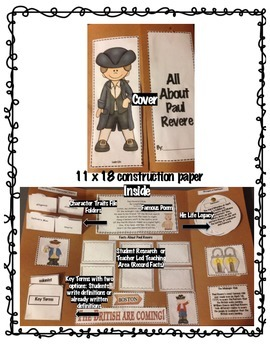 GSE American Historical Figures Interactive Lapbooks- MEGA Pack 9 Figures