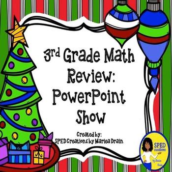 3rd Grade Holiday Math Review