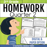 3rd Grade Homework- 2nd Quarter