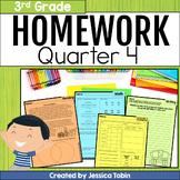 3rd Grade Homework- 4th Quarter