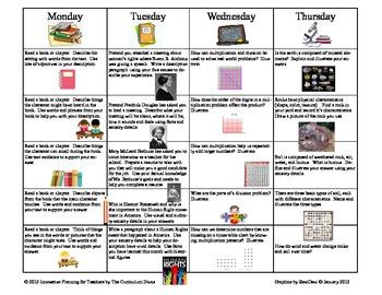 Third grade homework schedule resume writing in barrie