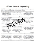3rd Grade Houghton Mifflin Journeys Life on the Ice Vocabulary and Sequencing