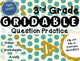 3rd Grade--->How to fill out a GRIDDABLE