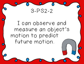"""3rd Grade """"I Can"""" Printables for Next Generation Science S"""