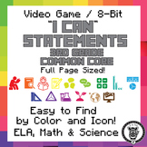 3rd Grade I Can Statements Common Core CCSS ELA, Math & Sc
