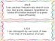 3rd Grade I Can Statements Common Core ELA- Bright Colors