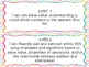 3rd Grade I Can Statements Common Core math- Bright Colors