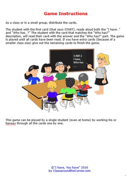 3rd Grade I Have, Who Has…  3.NBT.1 THE ROUNDING RULE