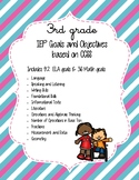 IEP Goals and Objectives - 3rd Grade