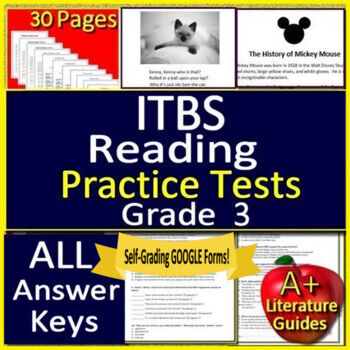 Iowa Test Practice Worksheets Teaching Resources TpT