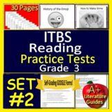 3rd Grade ITBS Test Prep - Reading ELA Practice Tests Iowa Test of Basic Skills