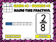 Naming Fractions Tic-Tac-Toe Powerpoint Game