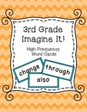 3rd Grade Imagine It! High Frequency Words