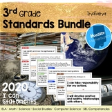 3rd Grade Indiana Standards I Can Statements Bundle