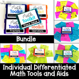 3rd Grade Individual Math Tool Kit Aids Year Long Bundle D