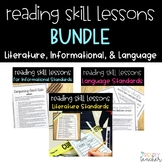 3rd Grade Informational, Literature, and Language Lessons BUNDLE