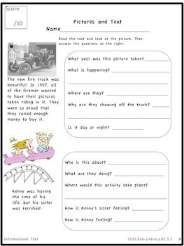 3rd Grade Informational Text Bundle