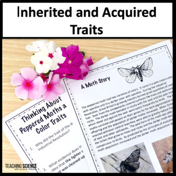 Inherited And Acquired Traits Teaching Resources | Teachers Pay Teachers
