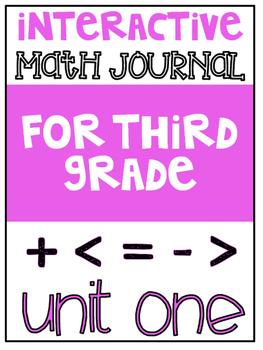 3rd Grade Interactive Math Journal    Go Math Chapter 1 (Addition & Subtraction)