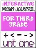 3rd Grade Interactive Math Journal  | Go Math Chapter 1 (Addition & Subtraction)