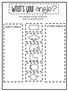 3rd Grade Interactive Math Journal    Go Math Chapter 12 (Geometry)