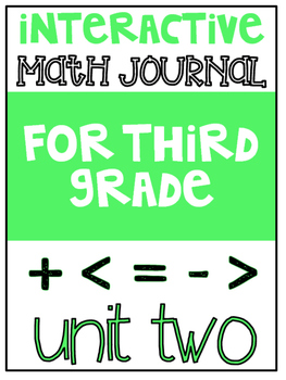 3rd Grade Interactive Math Journal  | Go Math Chapter 2 (Graphs and Data)