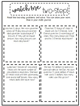 3rd Grade Interactive Math Journal  | Go Math Chapter 7 (Division)