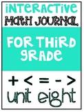 3rd Grade Interactive Math Journal    Go Math Chapter 8 (F