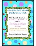 Interactive Math Journals 3rd Grade NBT and OA Bundle