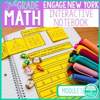 Engage New York Math Aligned Interactive Notebook: Grade 3, Module 5