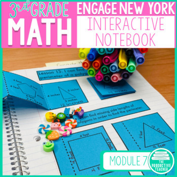 3rd Grade Math Engage New York Aligned Interactive Notebook: Module 6