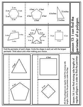 Engage New York Math Aligned Interactive Notebook: Grade 3, Module 7
